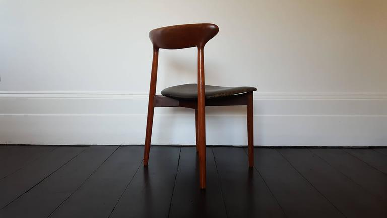 Beautiful Harry Østergaard for Randers Møbelfabrik, model 59 chair produced in the 1960s  We ship globally! Please contact to discuss.