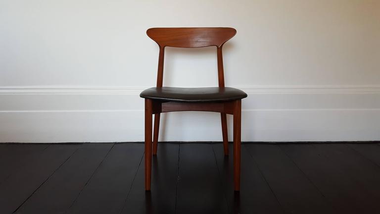 Danish Harry Østergaard for Randers Møbelfabrik, Model 59 For Sale