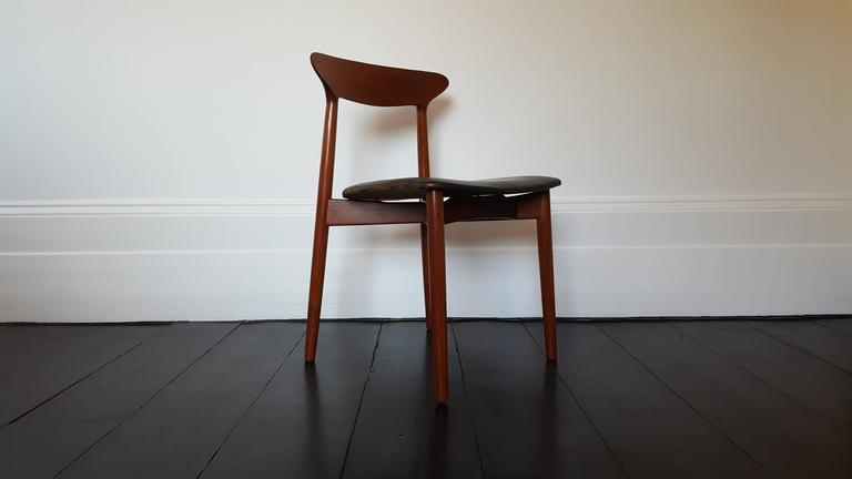 Leather Harry Østergaard for Randers Møbelfabrik, Model 59 For Sale