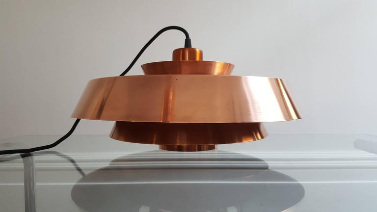 Jo Hammerborg Nova Pendant Light In Copper For Fog And
