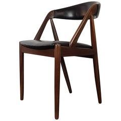 Kai Kristiansen Model 31 Teak 'A' Frame Chair for Schou Andersen, 1960s