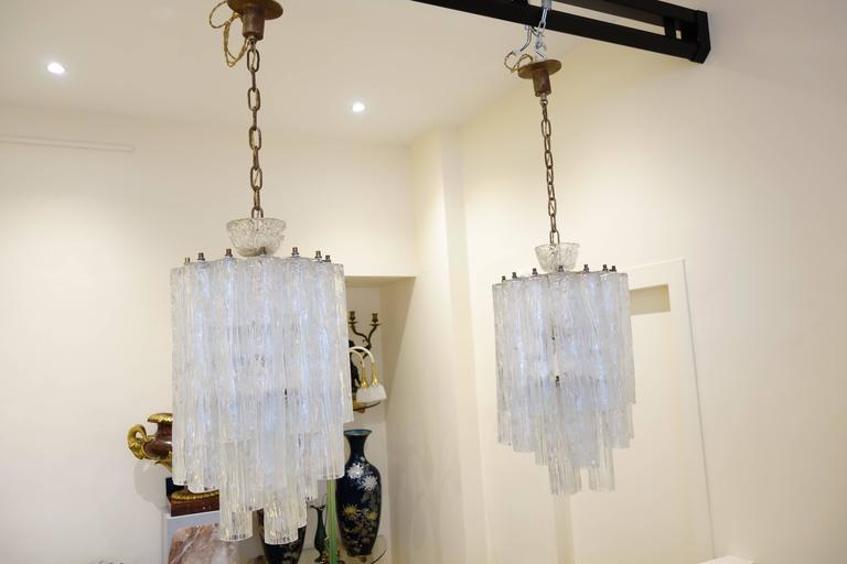 Pair Of Barovier Toso Chandelier Circa 1960s At 1stdibs