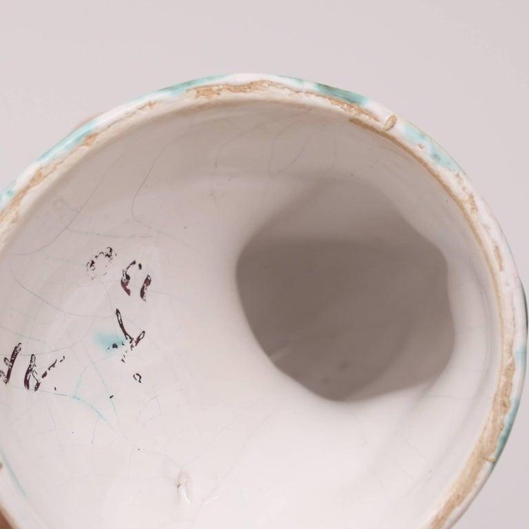 Art Deco Ceramic Chameleon by Hildo Krop For Sale 1