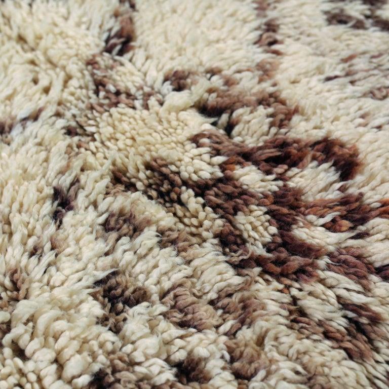 Wool Vintage Moroccan Berber Rug For Sale