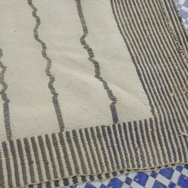 Wool Moroccan Berber Rug For Sale