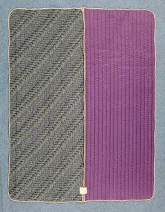 Piet Hein Eek Vintage Italian silk quilt blanket