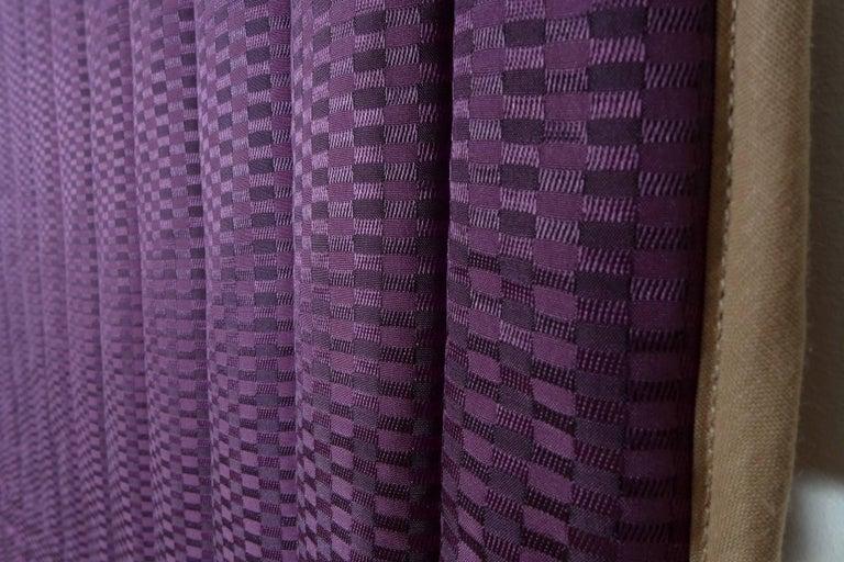 Quilted Piet Hein Eek Vintage Italian Silk Quilt Blanket For Sale