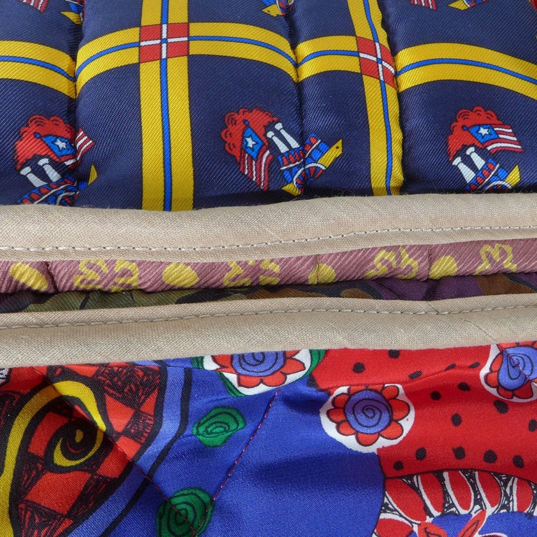 Quilted Silk Pillow Byborre and Piet Hein Eek In Excellent Condition For Sale In Amsterdam, NL