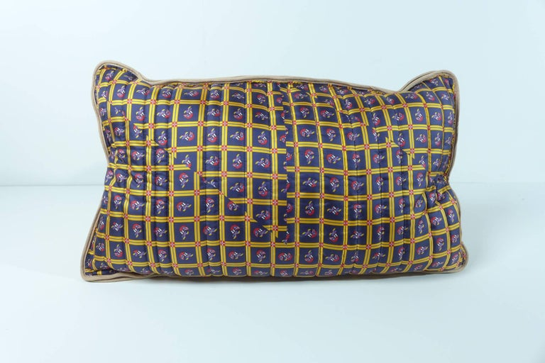 Contemporary Quilted Silk Pillow Byborre and Piet Hein Eek For Sale
