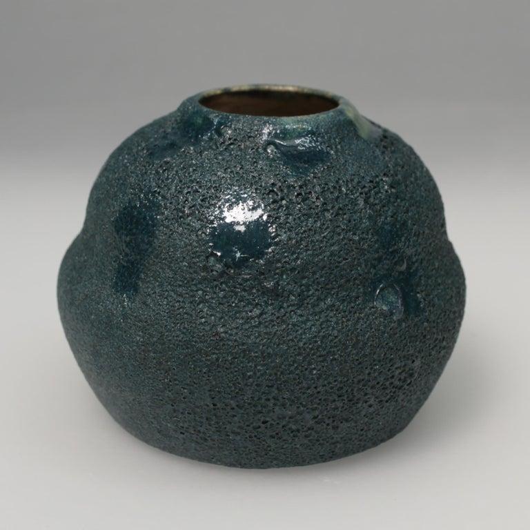 Dutch Art Deco Ceramic Vase For Sale