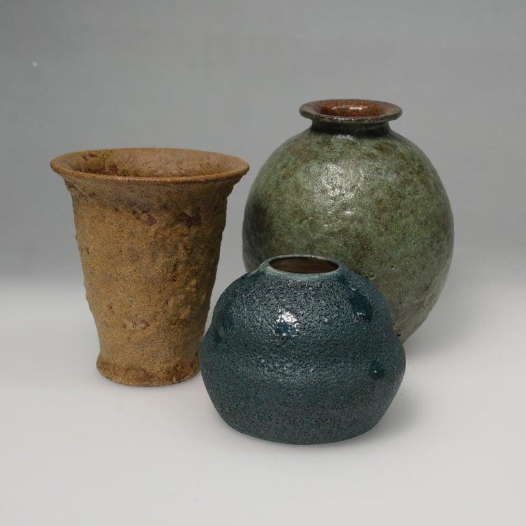 Art Deco Ceramic Vase For Sale 1