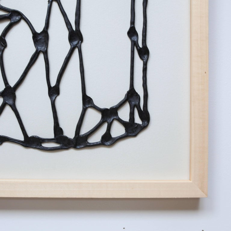 Contemporary Abstract Drawing by Eric von Robertson For Sale