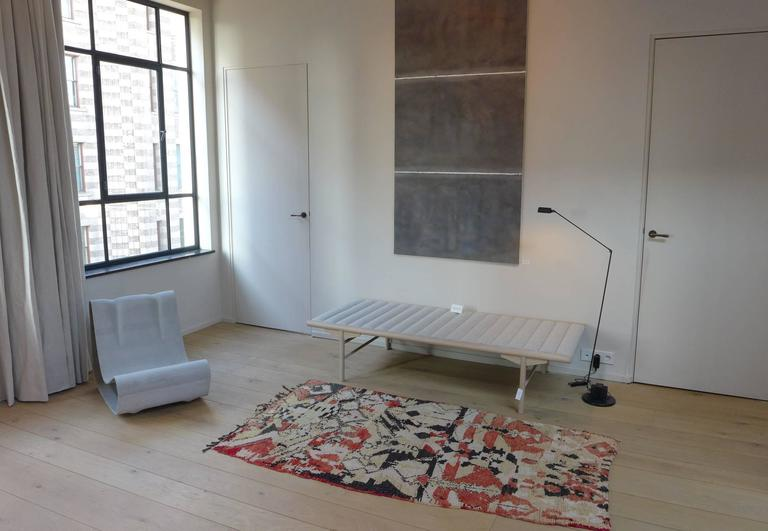Wool Vintage Moroccan Berber tapestry / rug For Sale