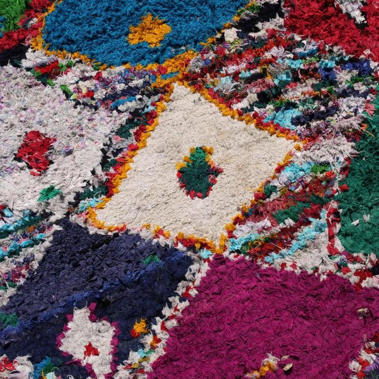 Vintage Moroccan Berber Rug For Sale 1