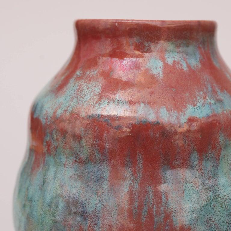 Royal Delft Vase with Experimental Glaze 2