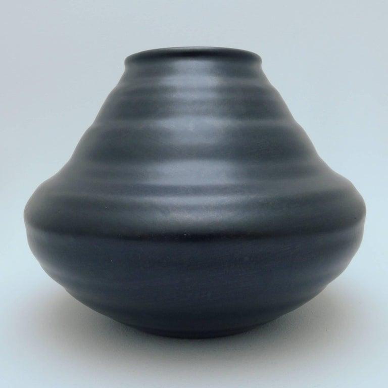 Dutch Art Deco Ceramic Vase In Good Condition For Sale In Amsterdam, NL