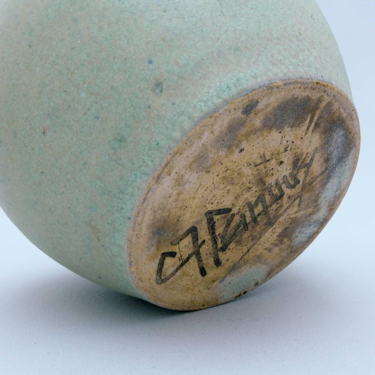 Art Deco Ceramic Vase by Chris Lanooy For Sale 1