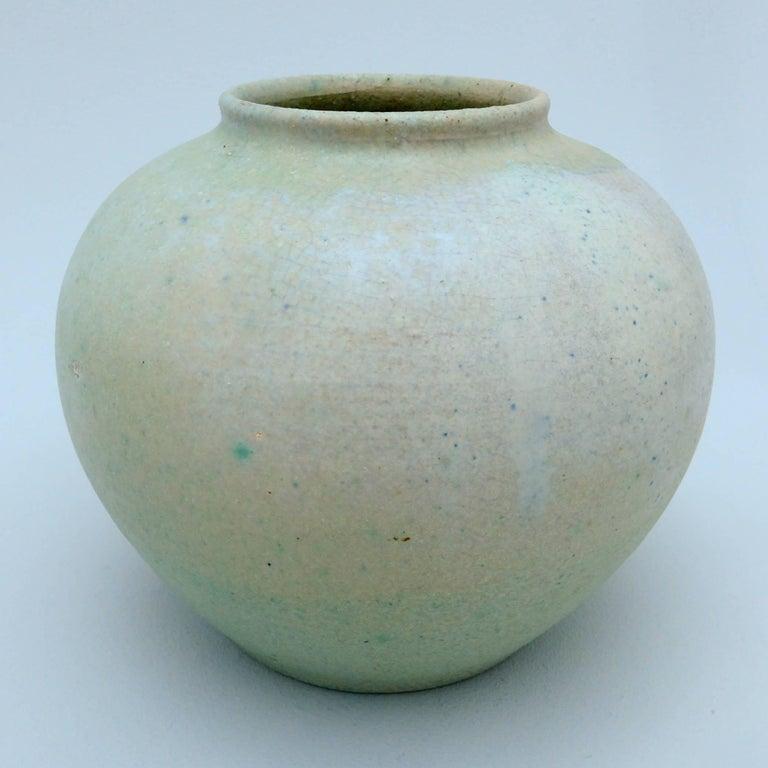 Dutch Art Deco Ceramic Vase by Chris Lanooy For Sale