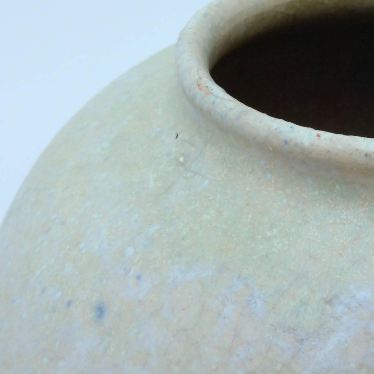 Hand-Crafted Art Deco Ceramic Vase by Chris Lanooy For Sale