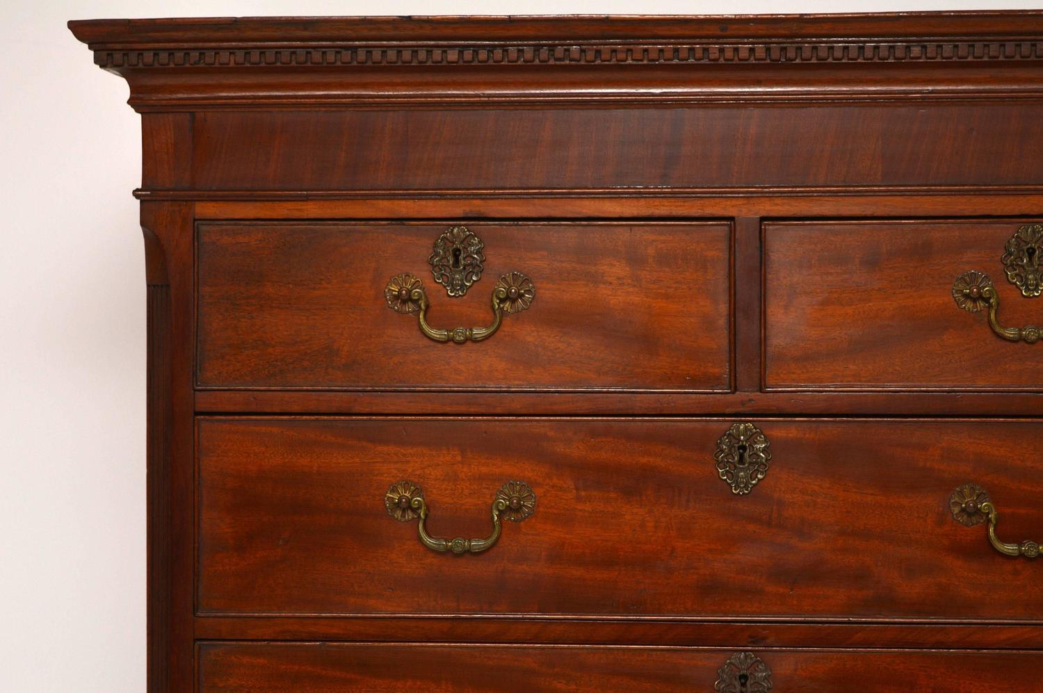 #AD4E1E Antique Period Georgian Mahogany Chest On Chest Tallboy  with 1500x997 px of Highly Rated Vintage Tallboy Chest Of Drawers 9971500 picture/photo @ avoidforclosure.info