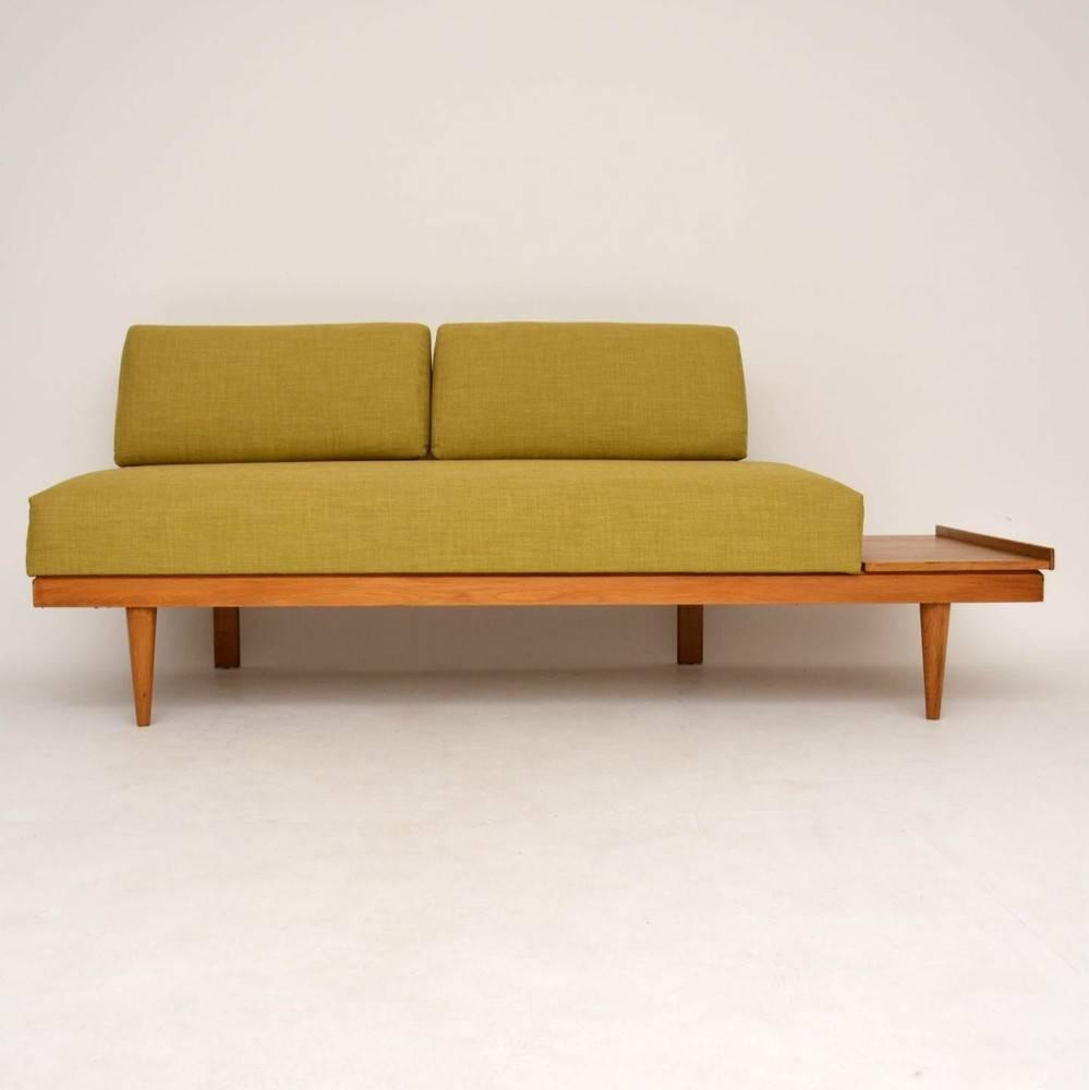 retro sofa bed or day bed by ingmar relling vintage 1960s for sale at 1stdibs. Black Bedroom Furniture Sets. Home Design Ideas