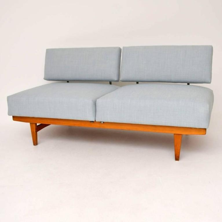 retro sofa bed or daybed by wilhelm knoll vintage 1950s rh 1stdibs com Wood Daybed with Trundle Bed Feather Bed with Daybed