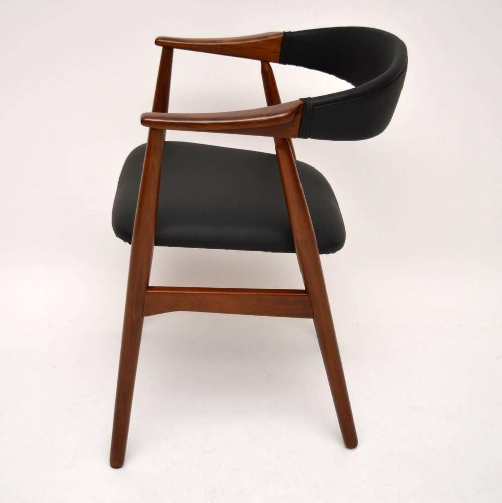 Set Of Eight Danish Afromosia Dining Chairs By Farstrup Vintage 1960s For Sa