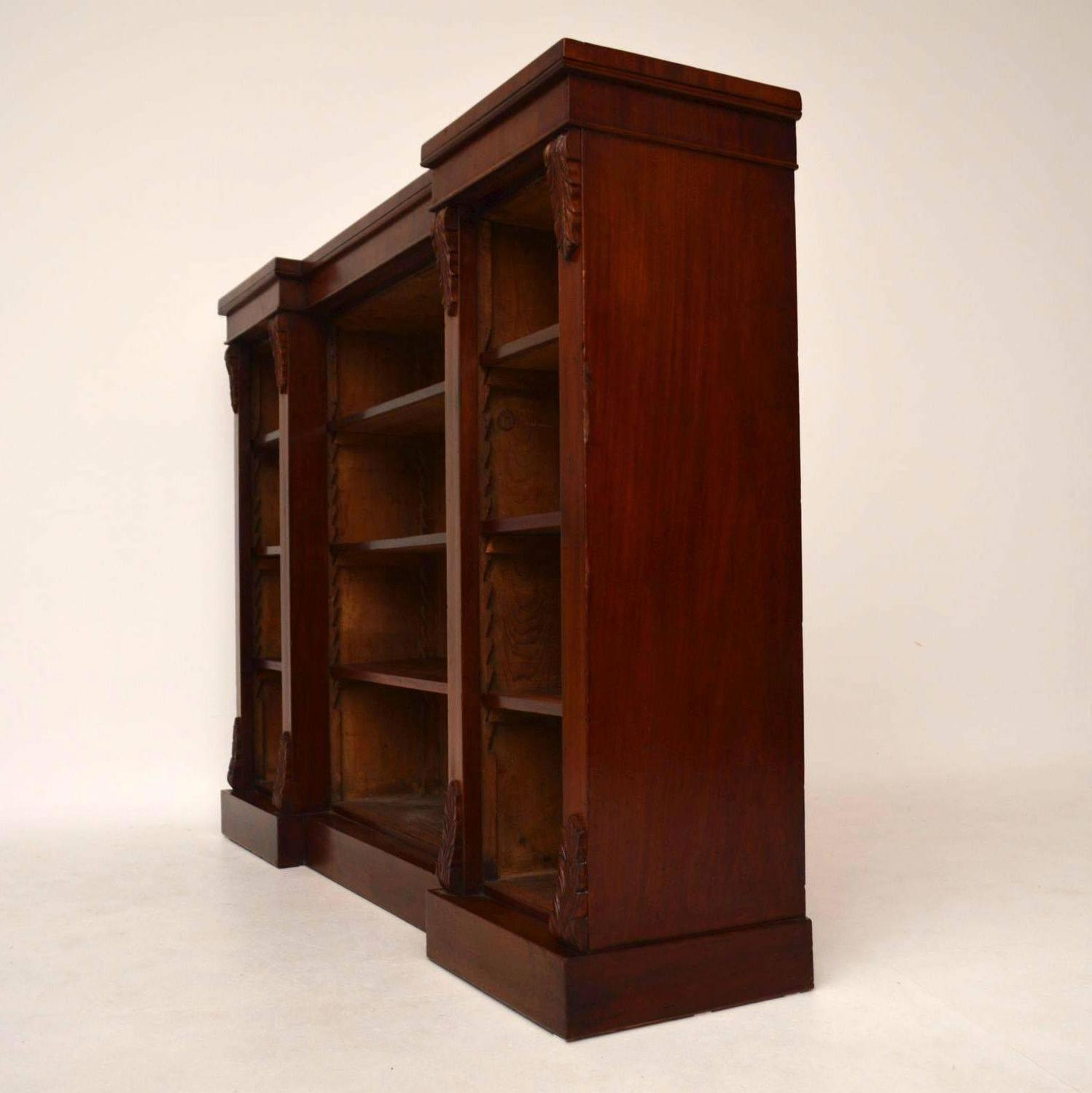 vintage bookcase for sale antique mahogany open bookcase for at 1stdibs 6779