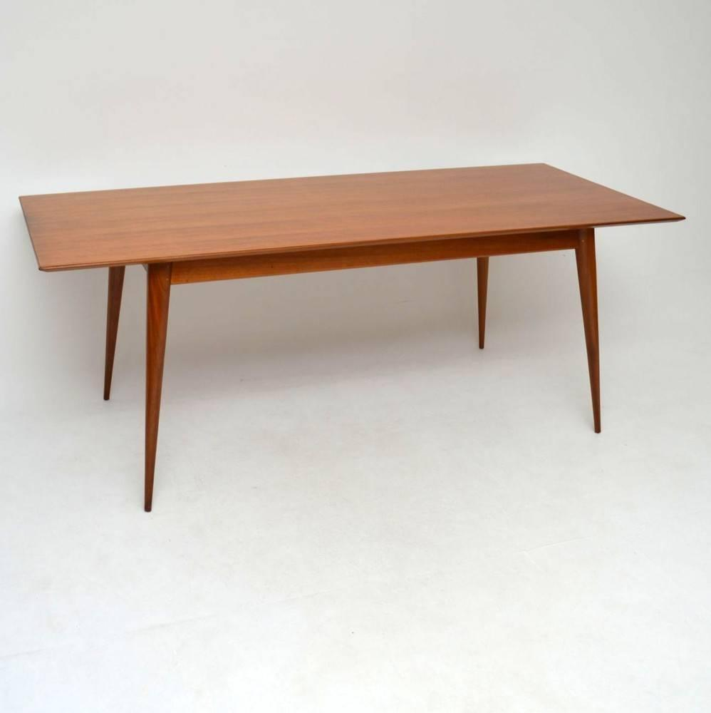 Dining Tables Retro Dining Table Retro Fixed Top Dining Table From Tannahill Furniture Ltd