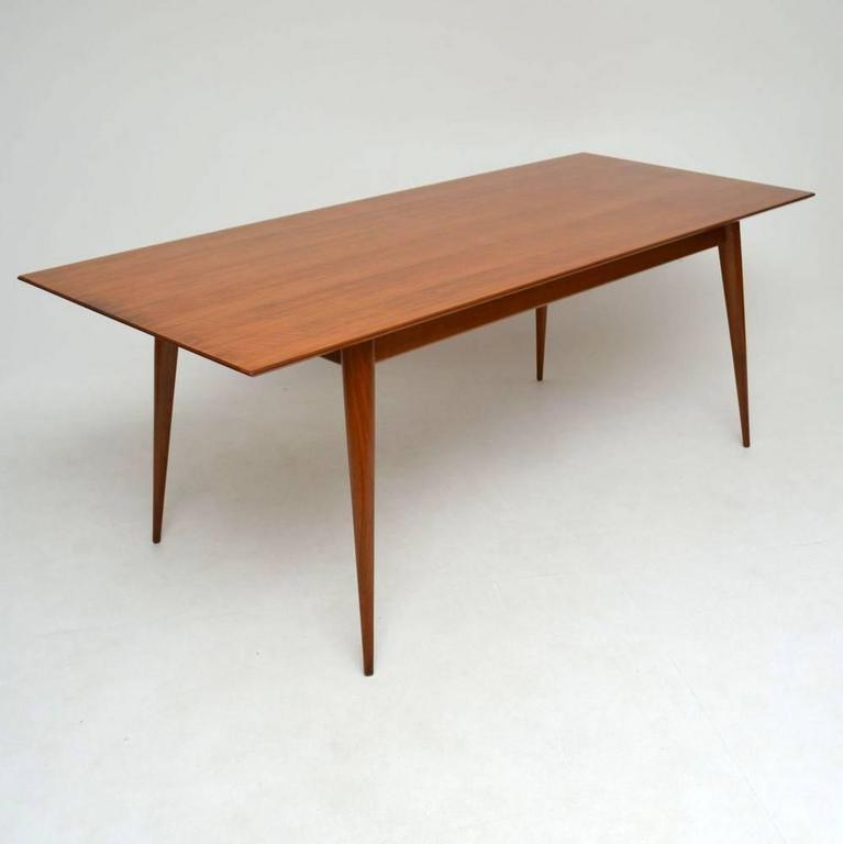 Diner Tables For Sale: Retro Walnut Dining Table Vintage 1950s At 1stdibs