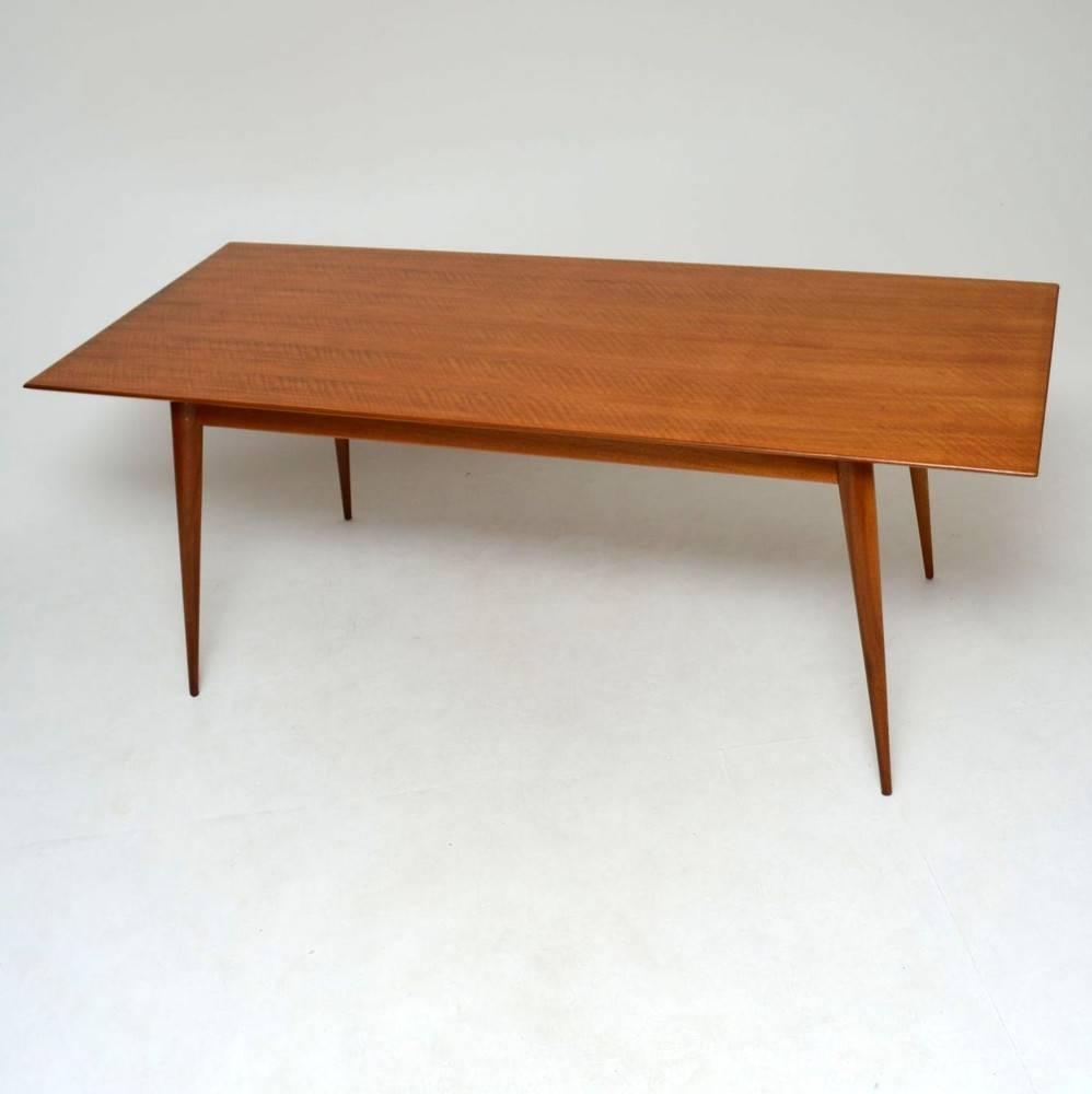 Retro Walnut Dining Table Vintage 1950s For Sale At 1stdibs