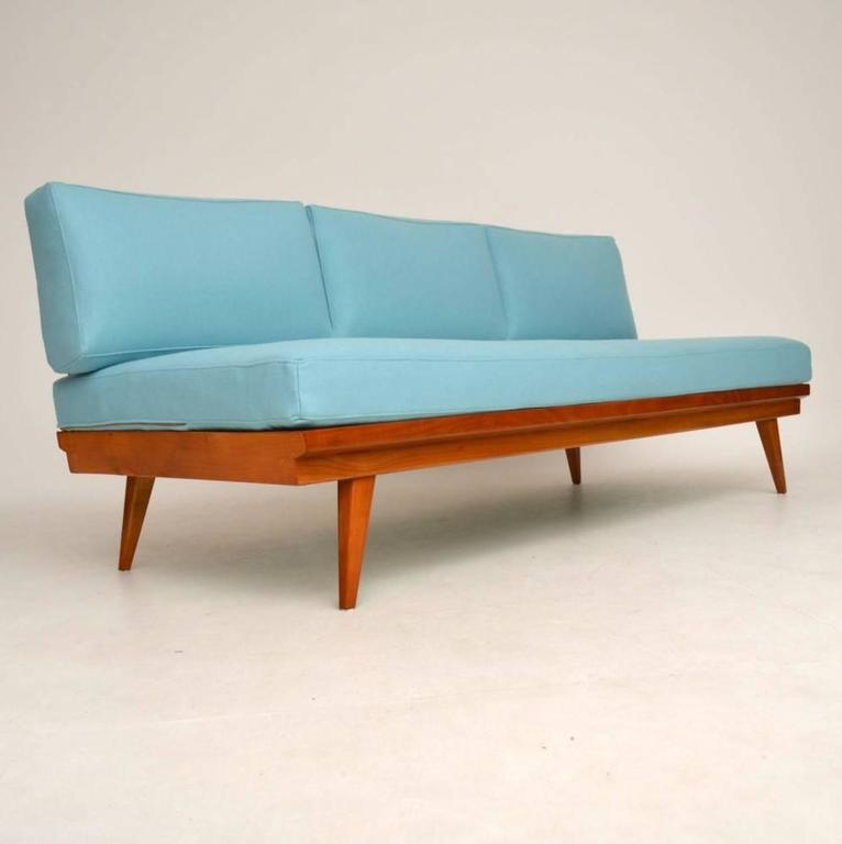 Retro Sofa Daybed By Wilhelm Knoll Vintage 1950s In Excellent Condition For