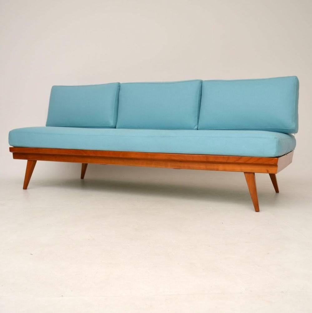 retro sofa daybed by wilhelm knoll vintage 1950s for sale at 1stdibs. Black Bedroom Furniture Sets. Home Design Ideas