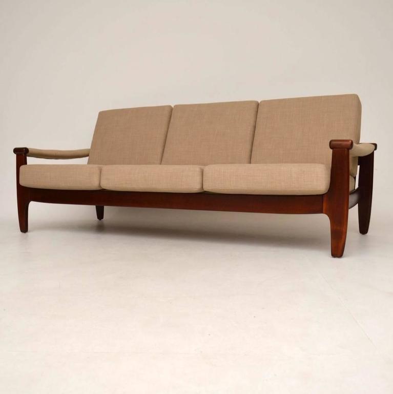 danish retro sofa vintage 1960s at 1stdibs