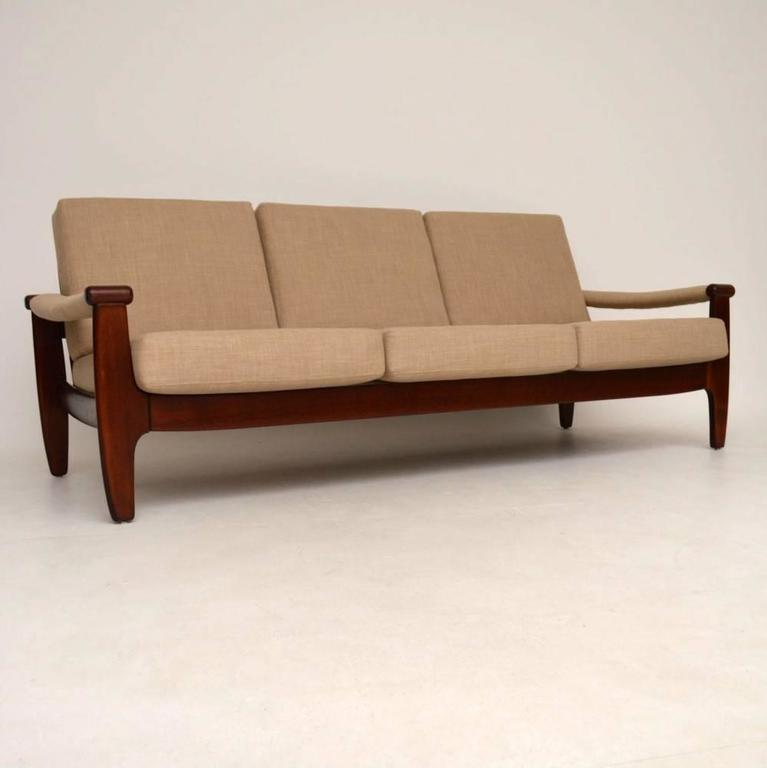 Danish Retro Sofa Vintage 1960s At 1stdibs