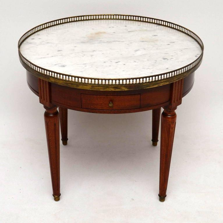 antique french marble-top coffee table at 1stdibs