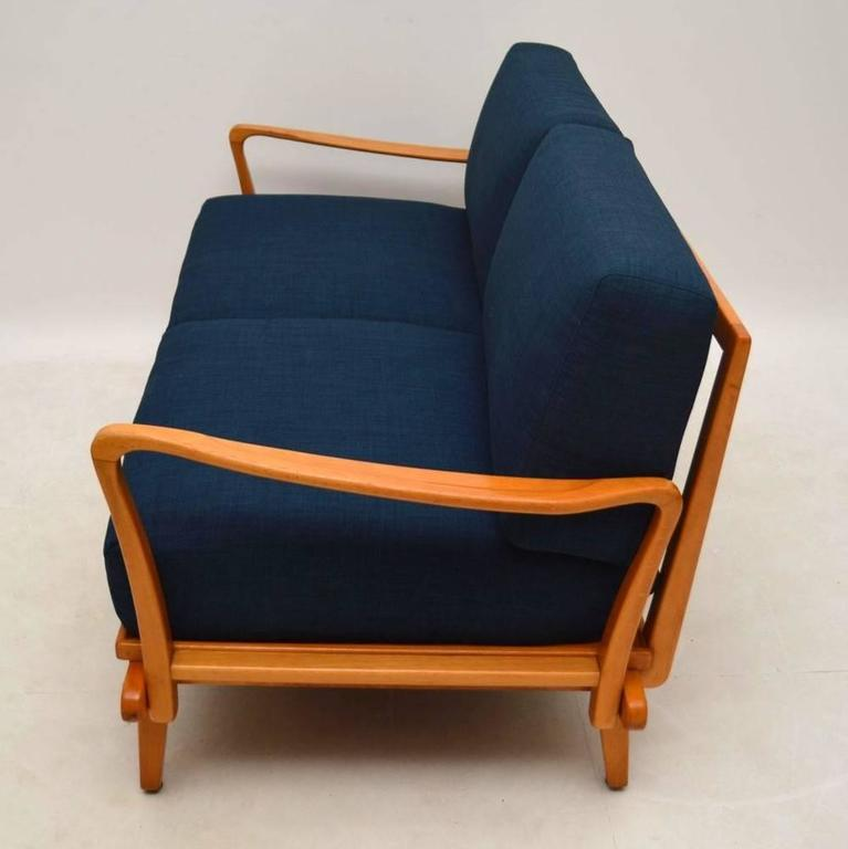 Retro Sofa Bed by Wilhelm Knoll, Vintage, 1950s at 1stdibs
