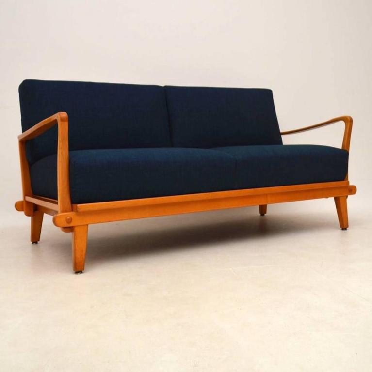 Retro sofa bed by wilhelm knoll vintage 1950s for sale for Sofa bed germany