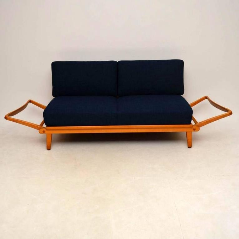 Retro Sofa Bed By Wilhelm Knoll, Vintage, 1950s For Sale 2