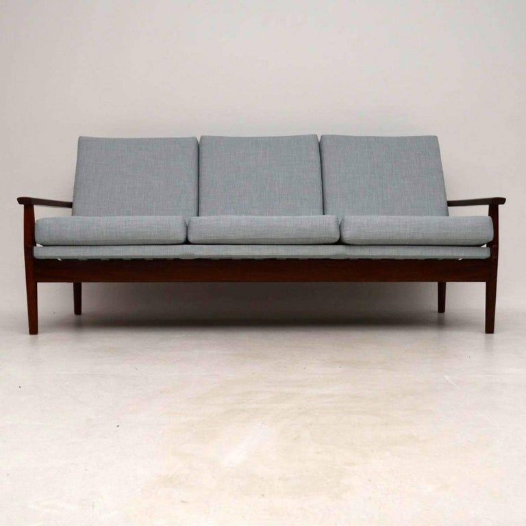 A Beautiful And Very Comfortable Vintage Danish Sofa This Dates From The 1960 S