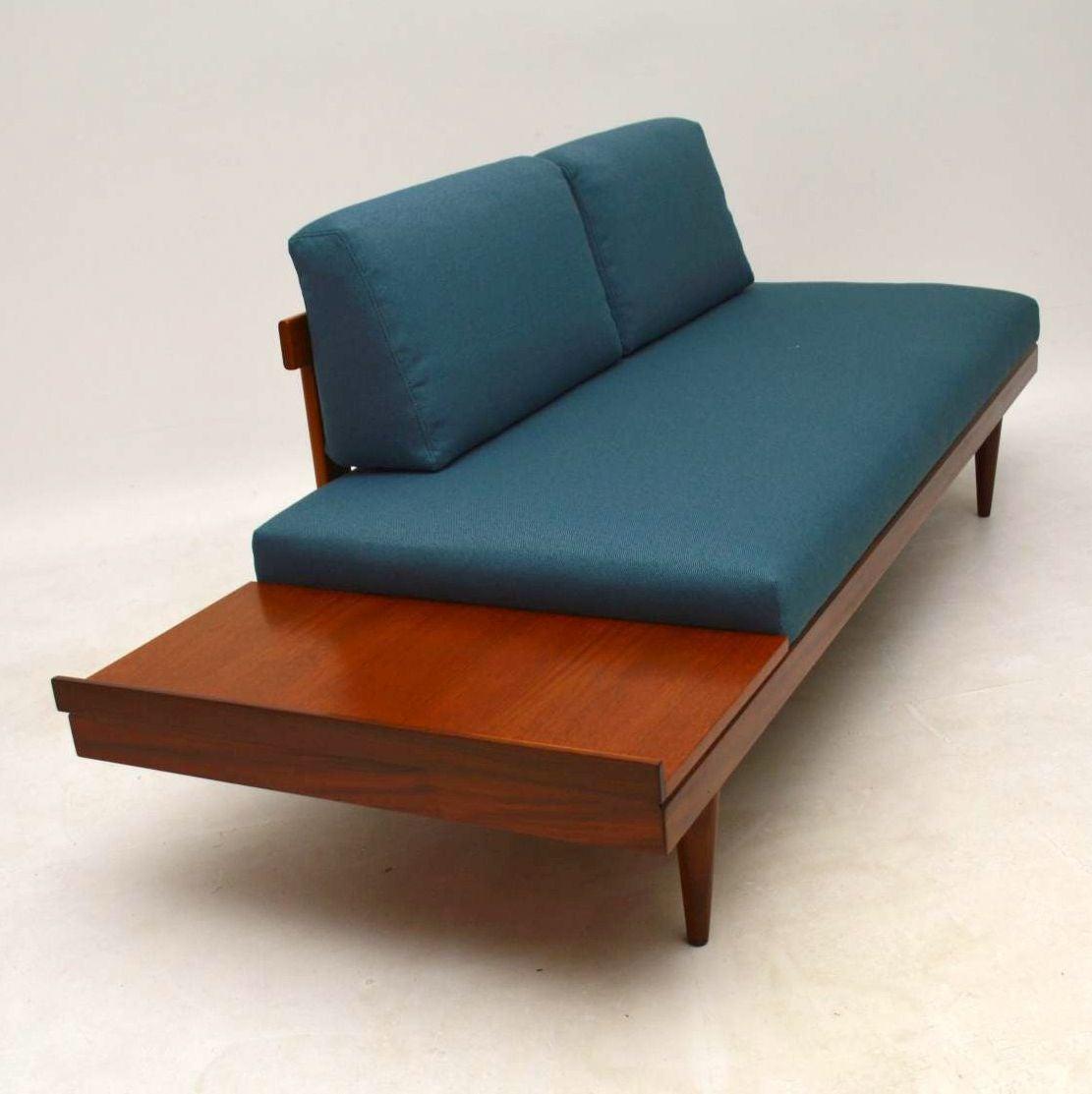 Lovely 1950s Vintage Teak Sofa Bed By Ingmar Relling At 1stdibs