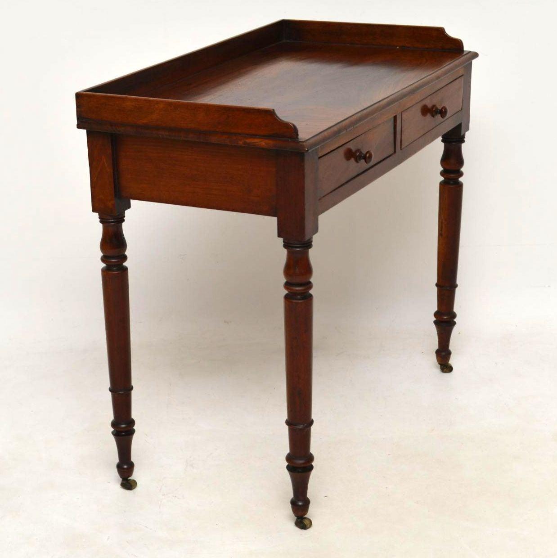 - Antique Victorian Mahogany Writing Table At 1stdibs