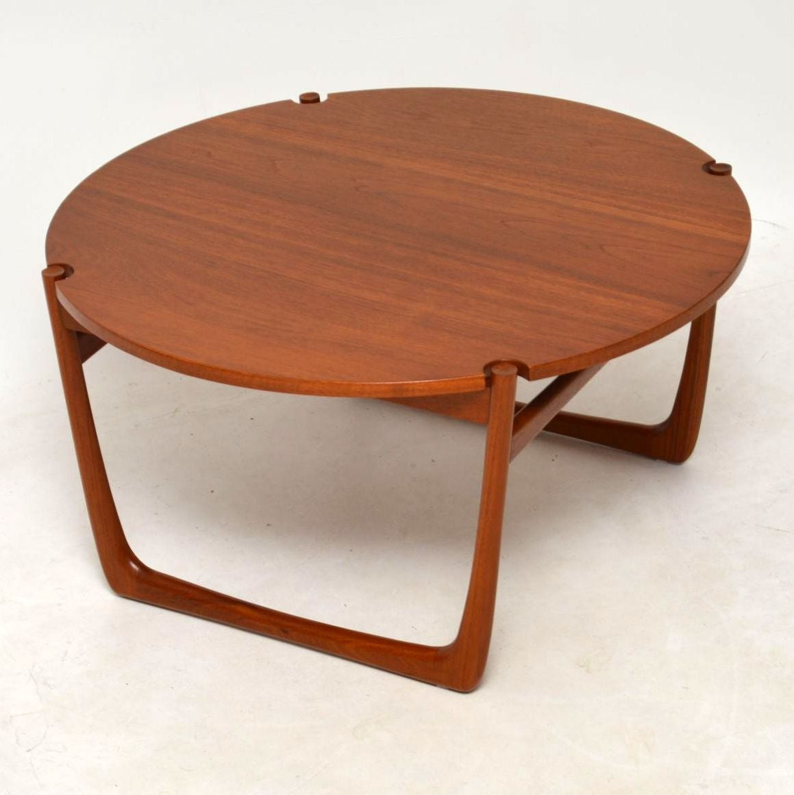 1960s Danish Teak Coffee Table By Peter Hvidt And Orla Mølgaard Nielsen For At 1stdibs
