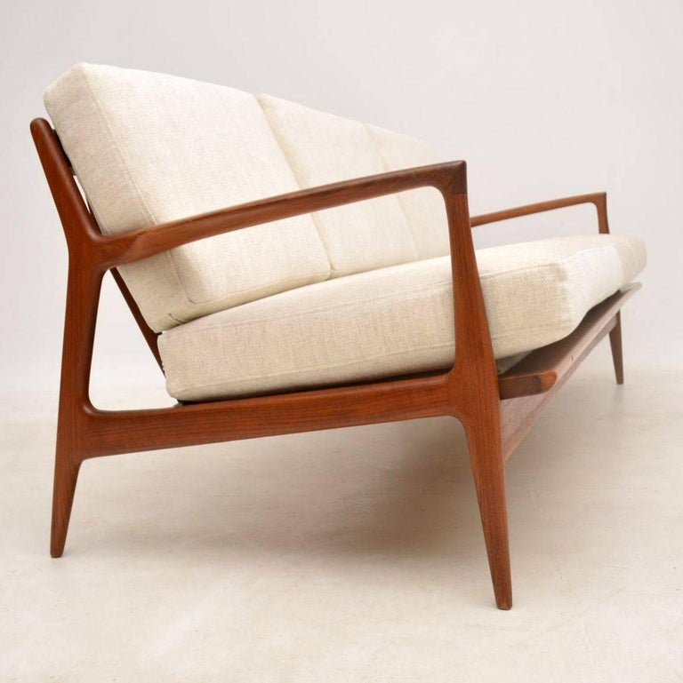 This Is A Magnificent Vintage Danish Sofa It Was Designed By Ib Kofod Ln And