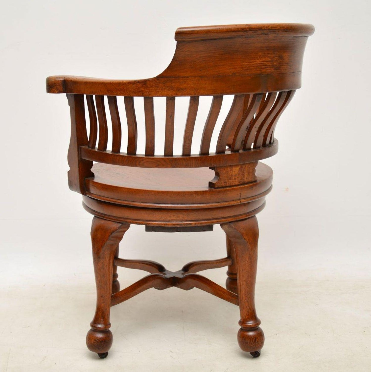 - Antique Victorian Swivel Desk Chair At 1stdibs
