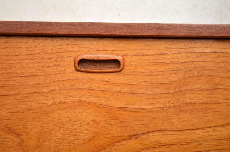 Wood 1960s Vintage Danish Wall Unit / Bookcase / Desk by Kai Kristiansen For Sale