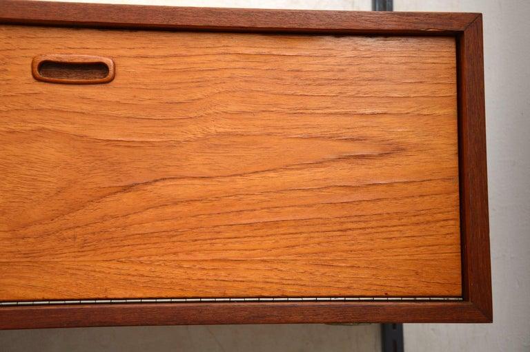 1960s Vintage Danish Wall Unit / Bookcase / Desk by Kai Kristiansen For Sale 1