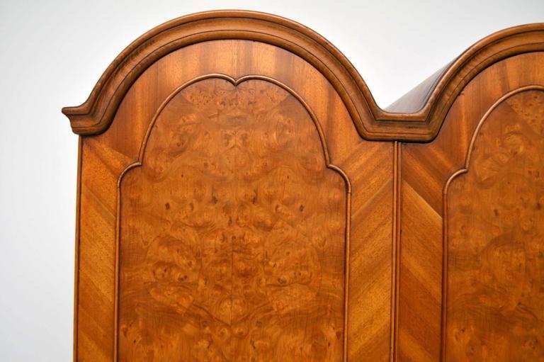 Antique Double Domed Burr Walnut Wardrobe At 1stdibs