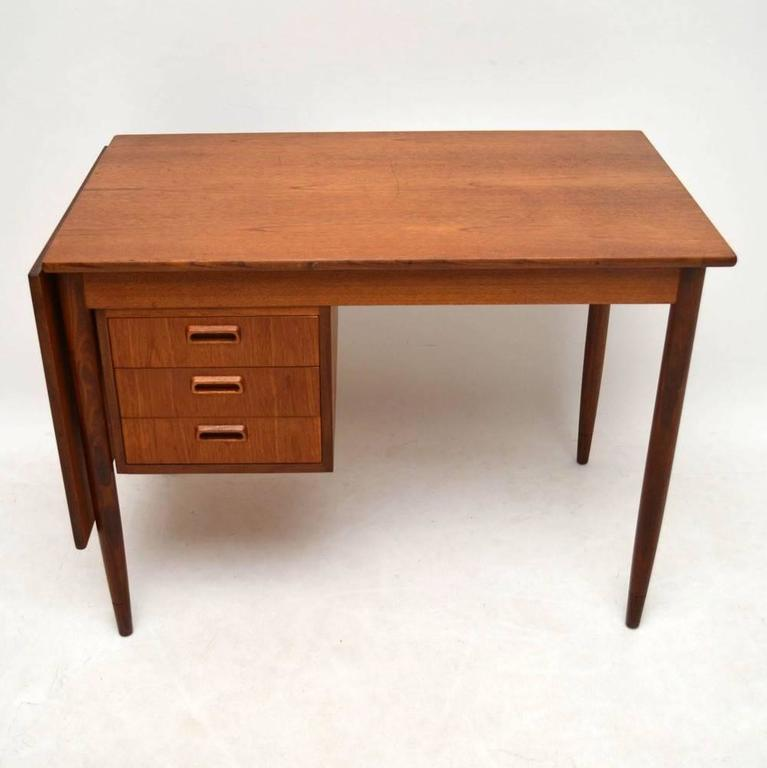 A Stylish And Very Practical Teak Desk This Was Designed By The Famous Danish Designer