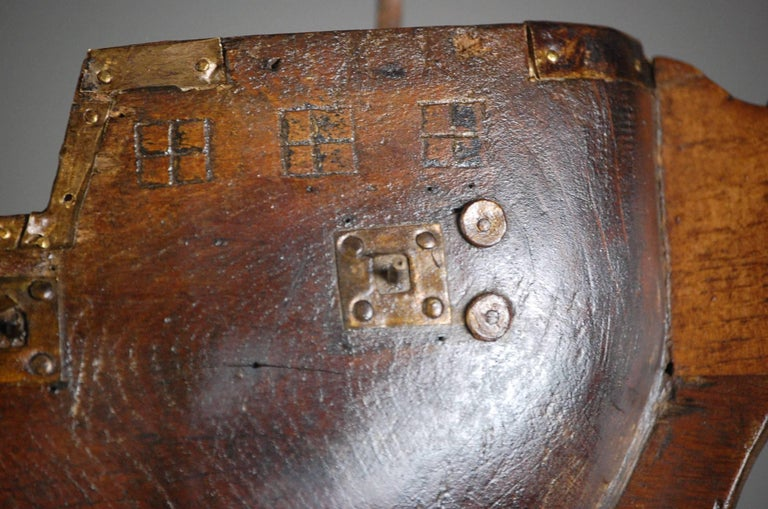 Early 19th Century Naive French Votive Ship For Sale 4